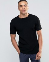 Asos Muscle Fit Ribbed Knitted Tshirt