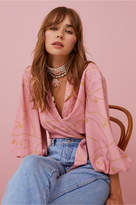 Finders Keepers CHAINS TOP pink charms