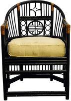 One Kings Lane Vintage Burmese Rattan Polo Chair