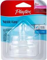Playtex Ventaire Natural Shape Nipple, 2 Pack, Medium Flow (2 Pack)
