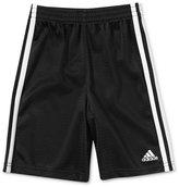adidas Little Boys' Stripe Mesh Shorts