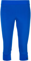 adidas by Stella McCartney 3/4 length leggings - women - Polyester/Spandex/Elastane - S