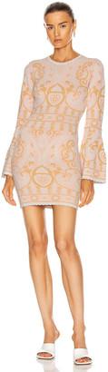 Alice McCall Adore Mini Dress in Blush | FWRD