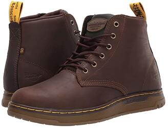 Dr. Martens Work Ledger Steel Toe SD (Dark Brown/Dark Brown/Dark Brown/Dark Brown) Men's Shoes