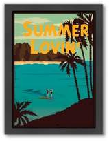 "Lovin Americanflat ""Summer Lovin'"" Digital Print Wall Art"