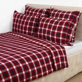 Lexington Holiday Flannel Multi Check Duvet Set - Double