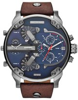 Diesel Mr Daddy 2.0 Chronograph Watch Dark Brown