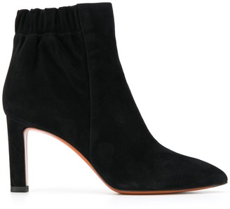 Santoni Elasticated-Opening Ankle Boots