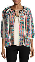 Manoush Women's Rona Wool Jacquard Tunic