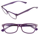 Corinne McCormack Women's 'Juliet' 53Mm Reading Glasses - Black/ Purple