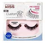Kiss Custom Fit Moderate Curve Lashes (6 Pack)
