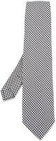 Etro houndstooth pattern tie - men - Silk - One Size