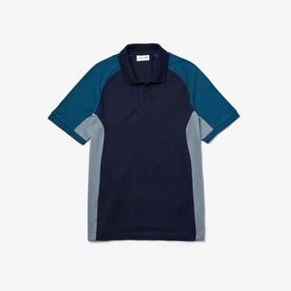 Lacoste Men's Colorblock Pique Polo Shirt