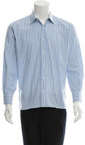 Brioni Striped Button-Up Shirt