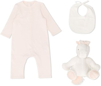 Chloé Kids Long Sleeve Embroidered-Design Body