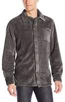 True Grit Men's Pebble Pile Long Sleeve Big Shirt
