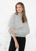 Other Stories Mock Neck Sweater