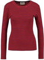 Mads Norgaard TUBA Long sleeved top navy/red