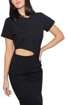 Thumbnail for your product : LnA Alek Cotton Cutout Dress