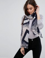Only Star Printed Scarf