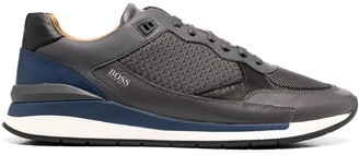 HUGO BOSS Monogram Low-Top Trainers