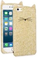 Kate Spade glitter cat iPhone 6 Plus/6s Plus case