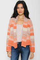 Goddis Charlott Cropped Cardigan In Toffee Crunch