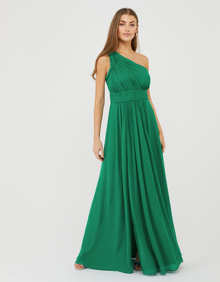 Under Armour Dani One-Shoulder Occasion Maxi Dress Green