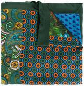 fe-fe printed scarf - unisex - Silk/Cotton - One Size
