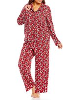Cabernet Plus Scroll Floral Pajamas