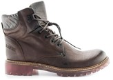 Bunker Riot Leather Ankle Boots