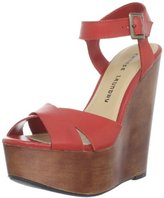 Chinese Laundry Women's Join Me Veg Leath Wedge Pump