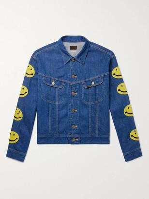 KAPITAL Embroidered Denim Jacket - Men - Blue