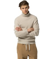 Tommy Hilfiger Lambswool Textured Turtleneck