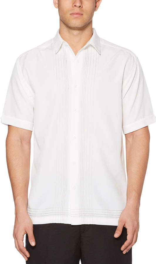 Cubavera Ombre L-Panel Shirt