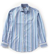 Thomas Dean Striped Shirt