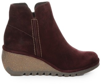 Fly London Nilo Leather Bootie