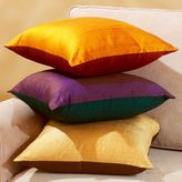 Two-Tone Silk Toss Pillows
