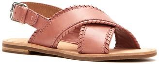 Frye Robin Feather CrissCross Sandal