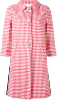 Prada three-quarters sleeve midi coat