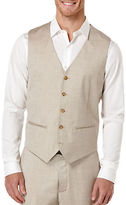 Perry Ellis Monochrome Textured Vest