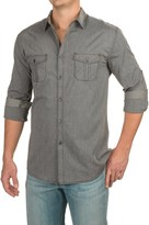 Specially made Collared Two-Pocket Shirt - Roll-Up Long Sleeve (For Men)