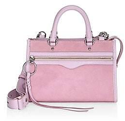 Rebecca Minkoff Women's Bedford Suede Satchel Mini Bag