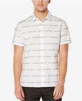 Perry Ellis Men's Broken Stripe Short-Sleeve Shirt