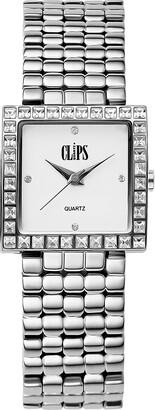 Clips Women's Quartz Watch 553-2005-18 with Metal Strap