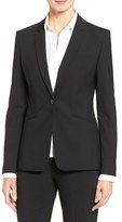 BOSS Women's 'Jabina' Stretch Wool Suit Jacket