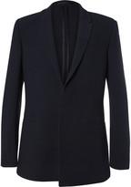 Kilgour - Navy Textured Wool-blend Suit Jacket