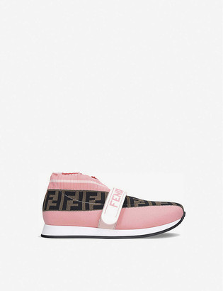 Fendi Love Low pull-on knitted trainers age 6-7 years