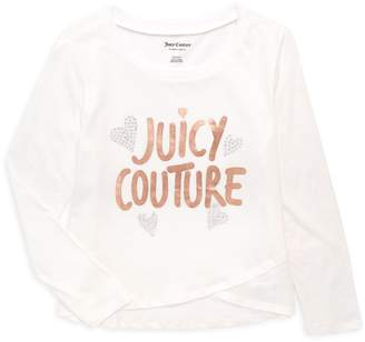 Juicy Couture Little Girl's & Girl's Logo Cotton Tee