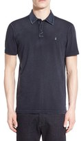 John Varvatos Men's 'Peace' Trim Fit Polo